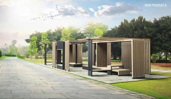 공원시설물(퍼걸러)의 진화, 디자인코뮌(DESIGN COMMUNE)