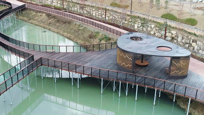 부산 일광저류지공원